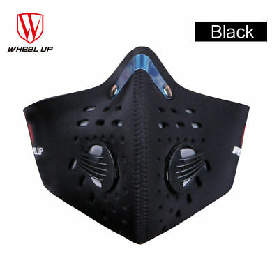 Cycling Mask Activated Carbon Filter Bike Face Mask Unisex Breathable Training