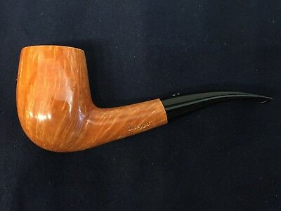 new and unsmoked il ceppo Pipe – Pfeife - Pipa, Handmade, Flame Grain