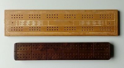 2 x Wooden Cribbage Boards.