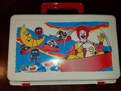Vintage McDonald's Happy meal Lunch Box Brand New and Rare