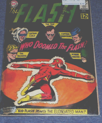 The Flash # 130# 1962 ..WHO DOOMED THE FLAH ..SORT AFTER VERY RARE ! 5.00 CG
