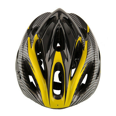 Cycling Mountain Bicycle Road Racing Yellow Helmet Unisex Safety Carbon
