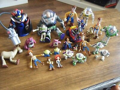 Huge Bundle Of Over 25 Toy Story Figures Including All The Favourites