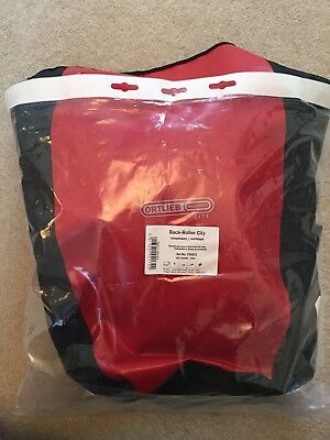 Ortlieb Rear Back Roller City Bag Red Brand New 40L