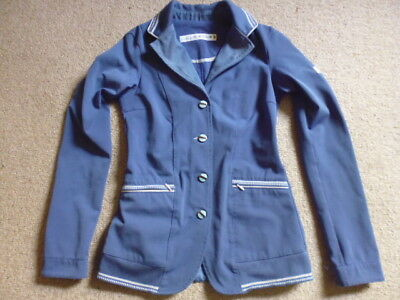 Animo girls competition show jacket blue size I 34 age 10-12 years approx