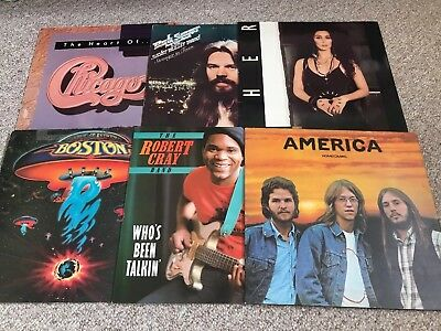 Soft Rock Vinyl Record Collection