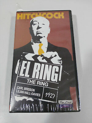 Hitchcock El Ring The Ring Carl Brisson Vhs Cinta Castellano New Nuevo