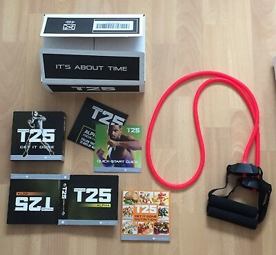 Used T25 Workout DVDs Alpha and Beta