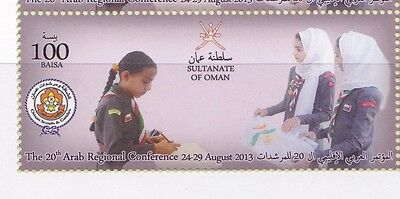 Sultanate Of Oman 2013 Scout , Scouting  Complete Set Mnh