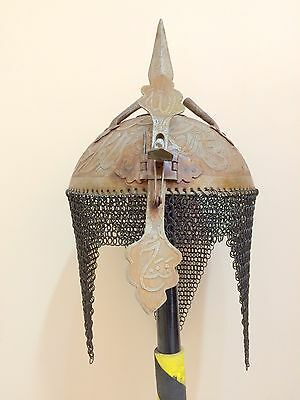 Indo Persian Mughal Islamic Khula Khud Helmet Armour reproduction