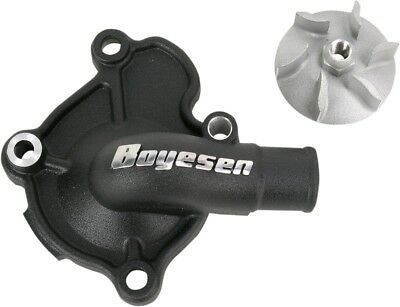 Boyesen Water Pump Cover & Impeller Kit Black WPK-07AB