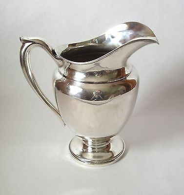Sterling Silver Pitcher By Dunkirk, 728 Grams