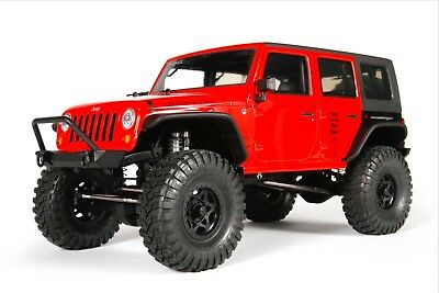 Axial Scx10 Jeep Wrangler Unlimited Rubicon 2012 Kit 1/10 Ax90027 W/hard Roof