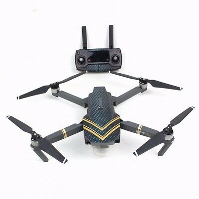 Body Remote Controller Battery Arm Skin Stickers Decals Wrap for DJI MAVIC PRO