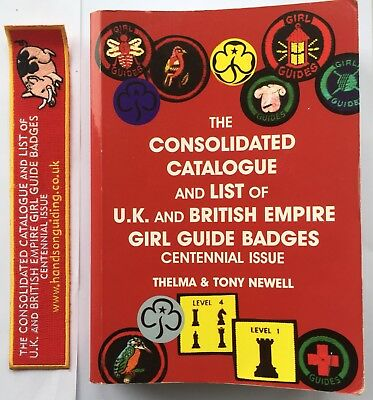 The consolidated Catalogue And List Of U.K. And Empire Girl Guide badges