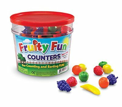 Learning Resources Fruity Fun Counters Set of 108