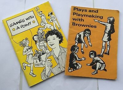 2 Brownie Girl Guides Books