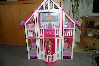 Barbie California Dream House - Complete with Original Accessories & FREE Barbie