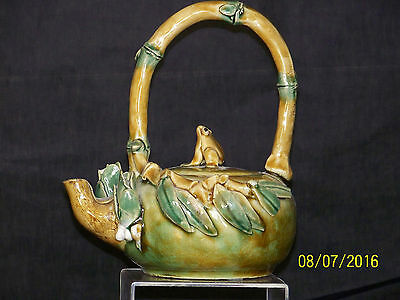 chinese Vintage Art Pottery Teapot