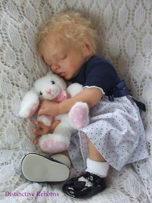 Distinctive Reborns Lifelike Reborn Baby Girl Doll. Alexa By Natalie Blick