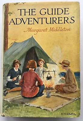 The Guide Adventurers Girl Guides 1935