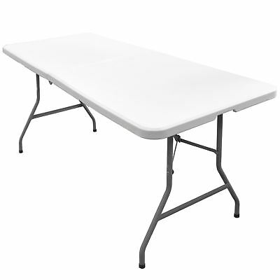 Folding Table  5Ft  Picnic Camping Bbq Banquet Garden Car Boot Sale Market Stall