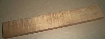 Hades Roasted Maple, 4A+ Quarter-Sawn Flame Strat or Tele Guitar Neck Blank