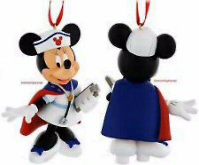 Minnie Mouse Figural Nurse Ornament ~Disney Parks~ New With Tags