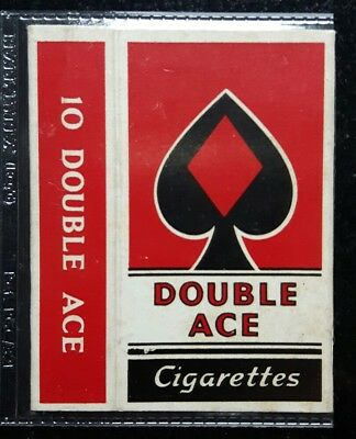 old hull cigarette packet DOUBLE ACE