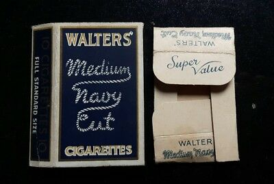 old hull cigarette packet Walters Navy Cut