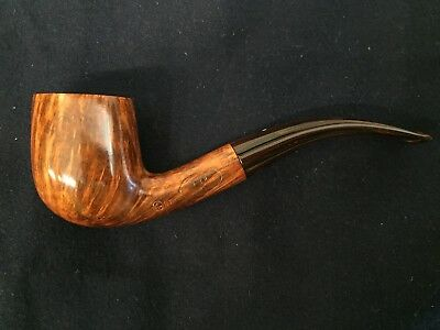 new and unsmoked Dunhill Amber Root Pipe - Pfeife - Pipa, amazing Flame Grain