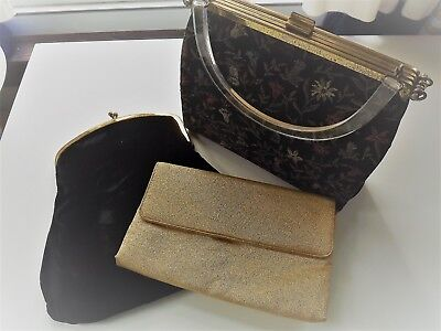 Lot of Three Sweet Vintage Purses