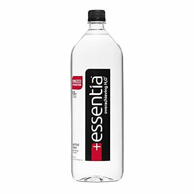 Essentia Ionized Alkaline 9.5 pH Bottled Water 1.5 Liter Pack of 12