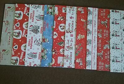 10 Sheets of Good Quality Cute Christmas  Wrapping Paper Brand New