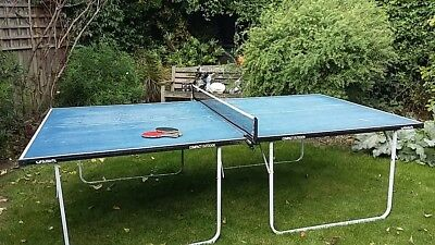 Table tennis table - Butterfly Blue Outdoor Compact full size