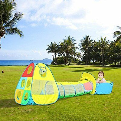 Kids Play Pop Up Tent for Boys Girls Babies Toddlers Indoor Outdoor Safety Use