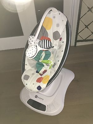 Multi-Color Plush 4moms, mamaRoo, Baby Swing, Used