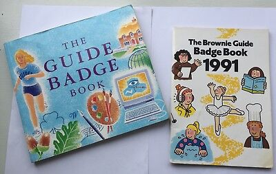 The Guide Badge Book 1995 Brownie Badge Book 1991