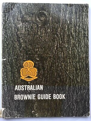 Australian Brownie Guide Book Late 1970s