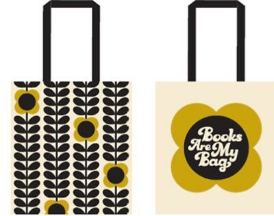 Collectable Orla Kiely Limited Edition Cotton Tote Bag Books Are My Bag BAMB '17
