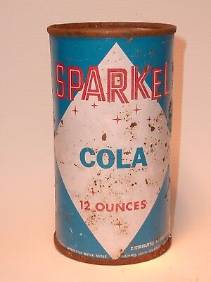 12oz Sparkel Cola Flat Top