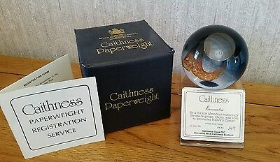 "Caithness ""encounter"" Paperweight"