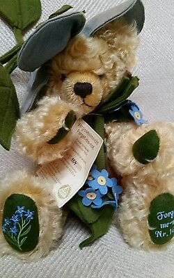 Hermann Teddy Bear Forget Me-Not