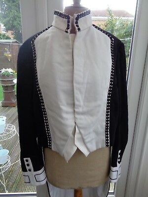 18th / 19th century style men's theatrical uniform dress coat by Arthur Davey