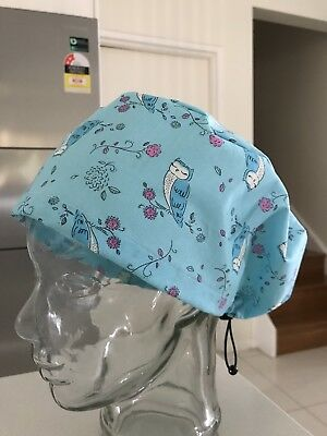 Handmade Scrub Hats. One size Fits Most