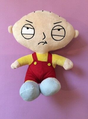 Stewie 9 Inch Family Guy Soft Teddy, Xmas Gift/ Stocking Filler Good Condition!