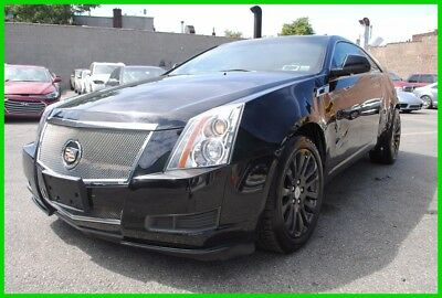 2011 Cadillac CTS Base Coupe 2-Door 2011 Cadillac CTS Coupe 3.6L V6 AWD Salvage Rebuildable SAVE BIG! OnStar Bose