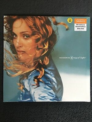 Madonna Ray of Light Sainsbury's Limited Edition Blue Vinyl