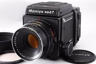 【Exc++++】Mamiya RB67 Pro w/ SEKOR NB 127mm F/3.8 120 Film Back From Japan #429