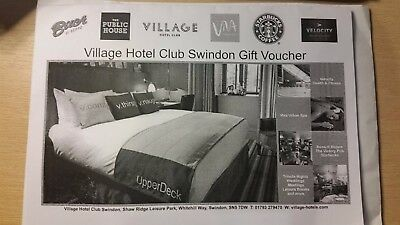 Village Hotel Club Swindon Gift Voucher, for two